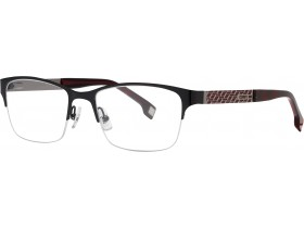 Cerruti 6093 black/red 53-18  140S