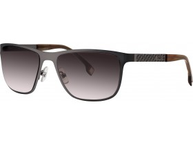 Cerruti 8058 gun/brown/ gradient brown 59-18  140F
