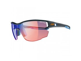 Julbo Aero dark bleu zebra light red