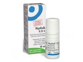 Silmatilgad Hyabak 10ml 1380 €/l