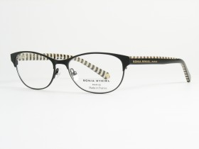 Sonia Rykiel 7298 black/cream stripes 53-15  140F
