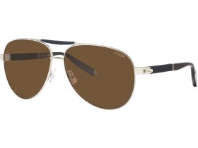 Bally 4042A silver/brown polarized cat 3 AFB 62-13 140