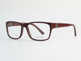 Maxime 19 burgundy/gray 53-16  135