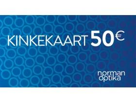 Kinkekaart Norman-Optika 50€