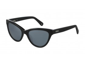 Kenzo 3194 black grey+silver mirror/cat 3