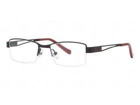 Kenzo 6038 black/red 48-18 130S