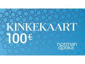 Kinkekaart Norman-Optika 100€