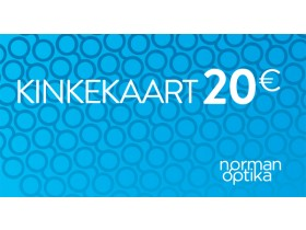 Kinkekaart Norman-Optika 20€