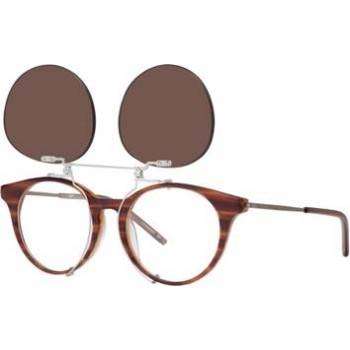 ff26fb0b2 Vespa 32TE brown horn, clip-on 51-18 140F | Norman-Optika