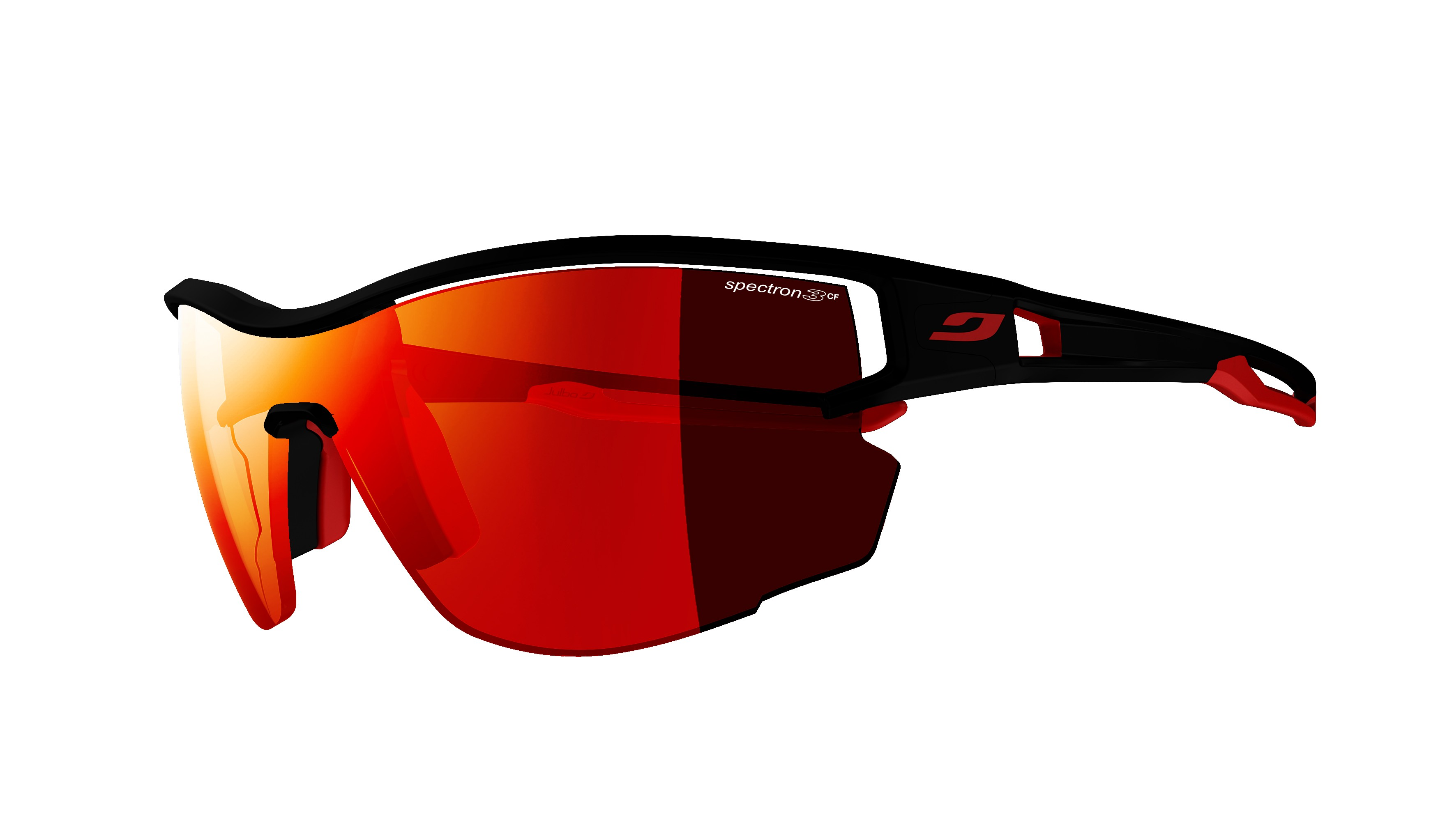 1a99463eea Julbo Aero noir mat sp3cf rouge | Norman-Optika