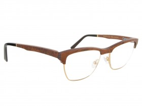 Gold&Wood B28 monture optique col. 3 Base 5 52-16  135