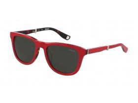 Bally 4051 red/tortoise, grey/cat 3  55-19