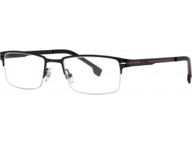 Cerruti 6088 black/red 53-19 140S