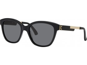 Kenzo 3189 black/gold  / grey / cat 3  54-19  140F