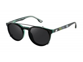 New Balance 4041 black-green, clip-on 50-20 145F