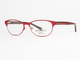 Sonia Rykiel 7298 red/red stripes 53-15  140F