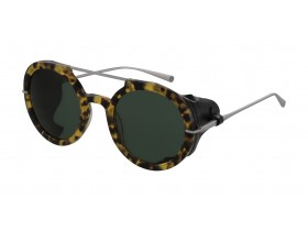 Vespa 3201 brown tortoise/ dark green cat 3 50-24 145F