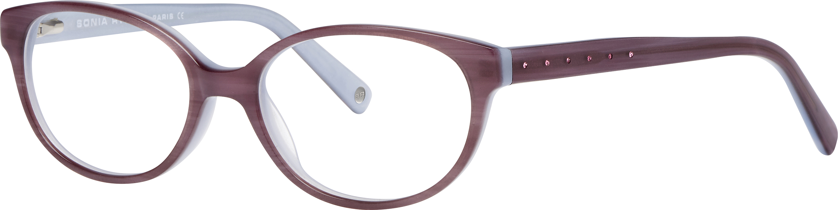 8f9dea291 Sonia Rykiel 8014 purple horn/blue 49-15 130F | Norman-Optika